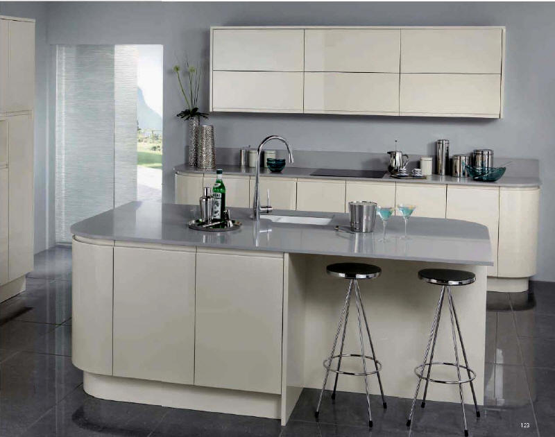 kitchen style saraya latte from fitted kitchens direct an