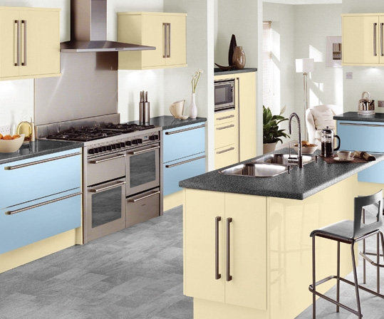 Kitchen cabinets doors only - Kitchen Style Sky From Fitted Kitchens Direct An
