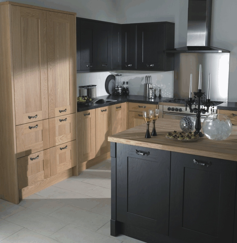Perfect Black Painted Oak Kitchen Cabinets 800 x 823 · 260 kB · jpeg