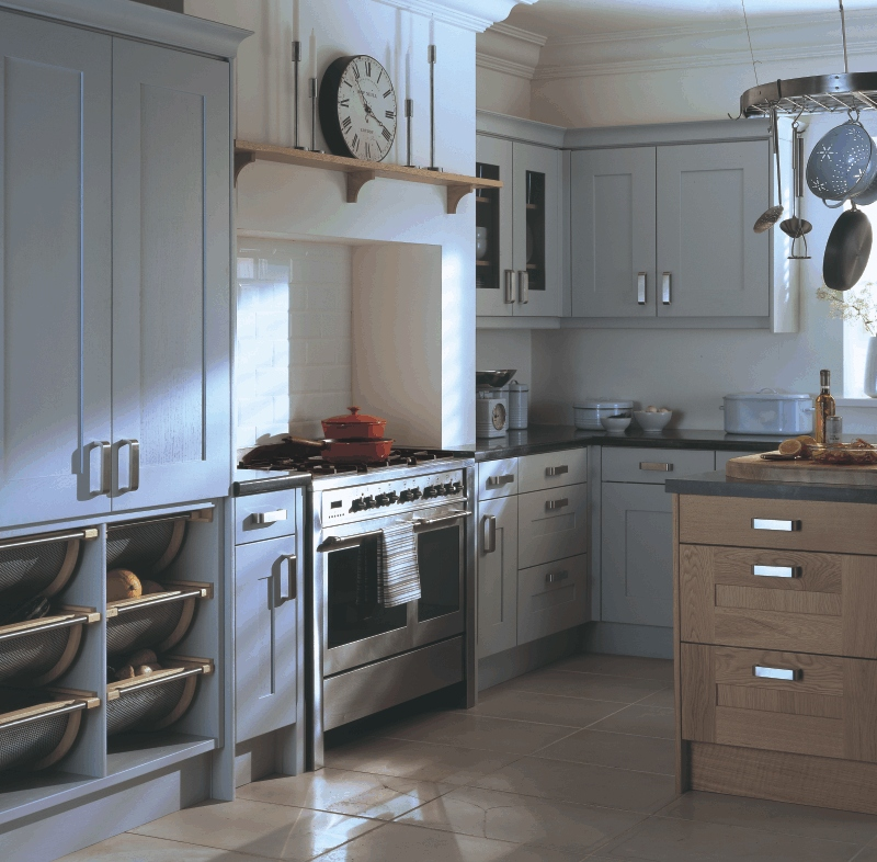 20 Amazingly Stylish Painted Kitchen Cabinets: From Fitted Kitchens